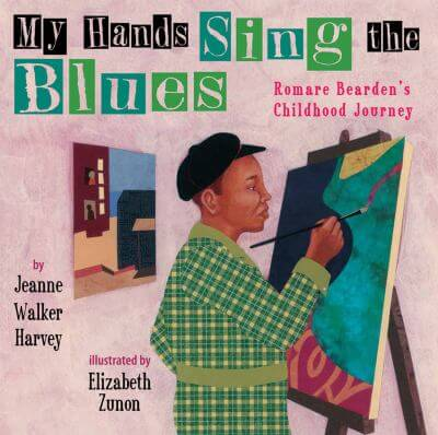 "Cover of the book, ""My Hands Sing the Blues"""
