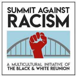 Summit Against Racism banner