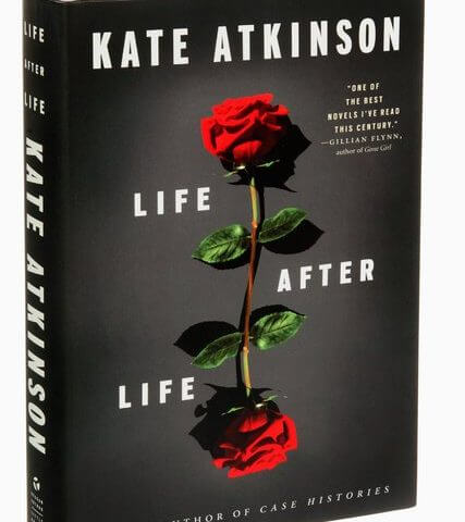 Cover of the book Life after Life featuring two red roses
