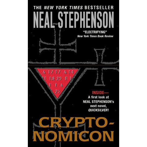 Cover art of the Cryptonomicon by Neal Stephenson