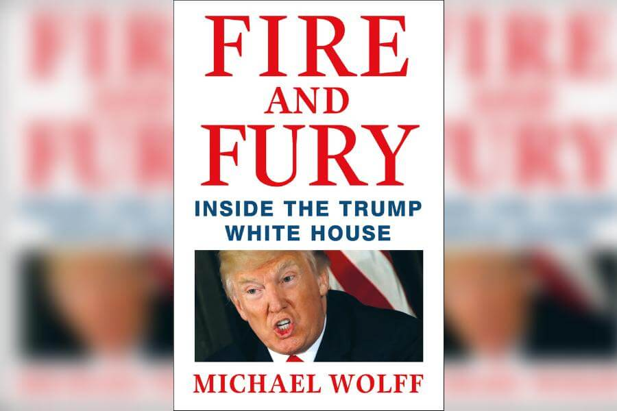 cover art for Fire And Fury Inside the Trump White House by Michael Wolff