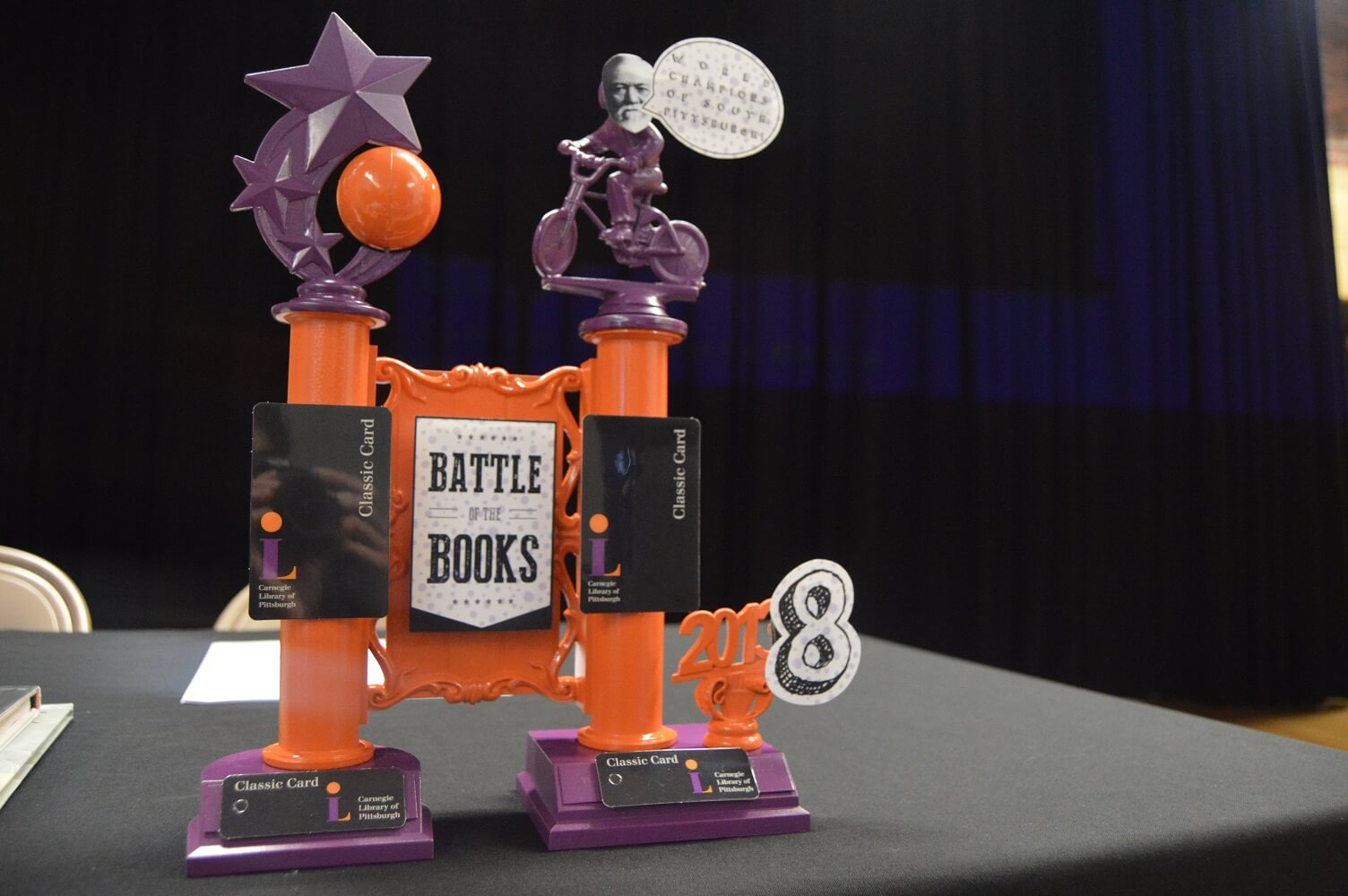 "CLP ""Battle of the Books"" trophy for 2018"