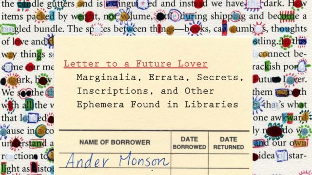 Cover of Letter to a Future Lover