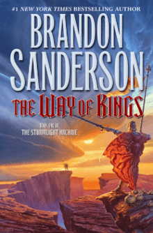 Cover art of The Way of Kings by Brandon Sanderson