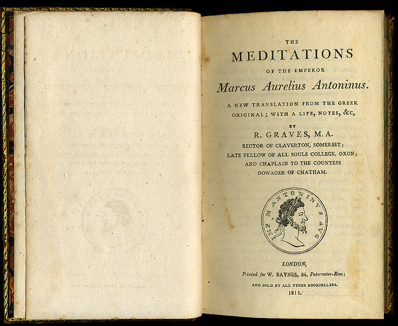 A copy of Meditations