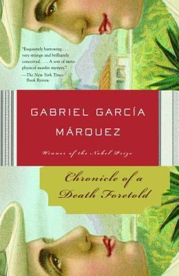 cover art of Chonicle of a Death Foretold by Gabriel Garcia Marquez.