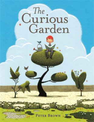 Cover of the book, The Curious Garden by Peter Brown