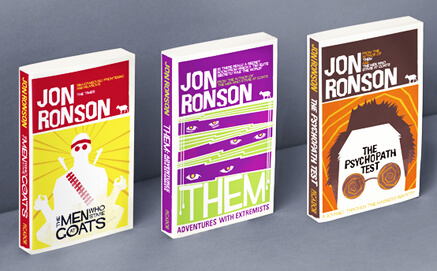 A couple of Ronson's books