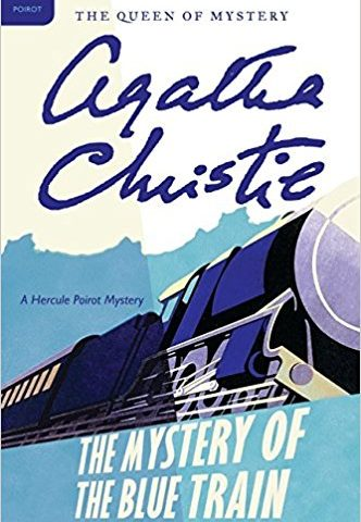 The Mystery Of The Blue Train Book Cover.