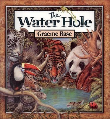 Cover of the book, The Water Hole by Graeme Base