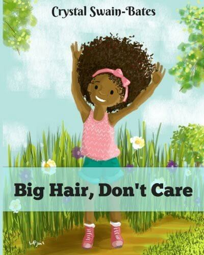 Cover of the book, Big Hair, Don't Care.