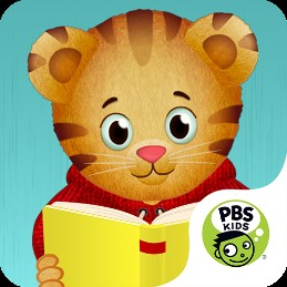 Icon for the Daniel Tiger's Storybooks.