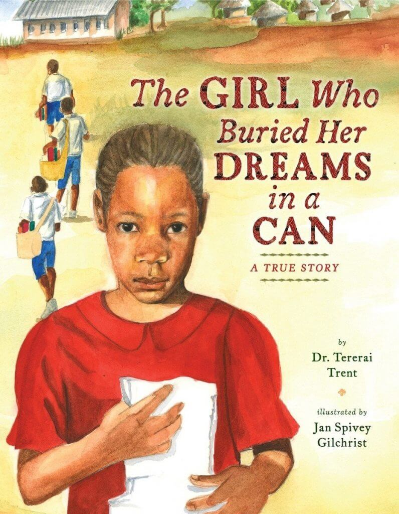 Cover of the book, The Girl Who Buried Her Dreams in a Can.