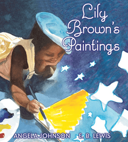 Cover of the book, Lily Brown's Paintings.