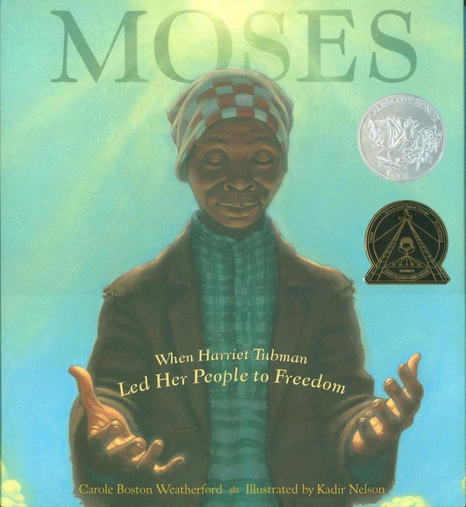 Cover of the book, Moses.