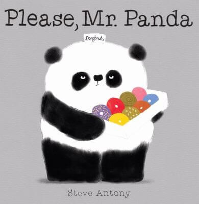Cover of the book, Please, Mr. Panda.