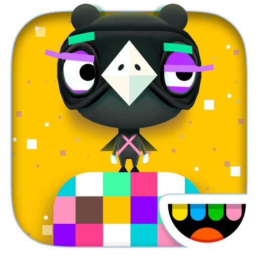 Icon for the app, Toca Blocks