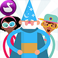 Icon for the app, Wizard School