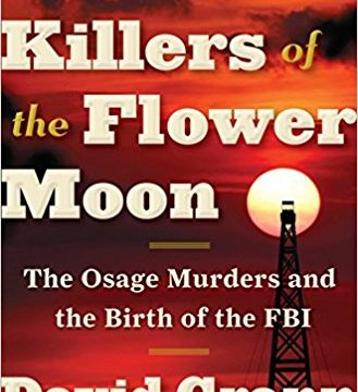 Book cover for Killers of the Flower Moon