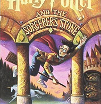 Harry otter and the Sorcerer's Stone Book Cover