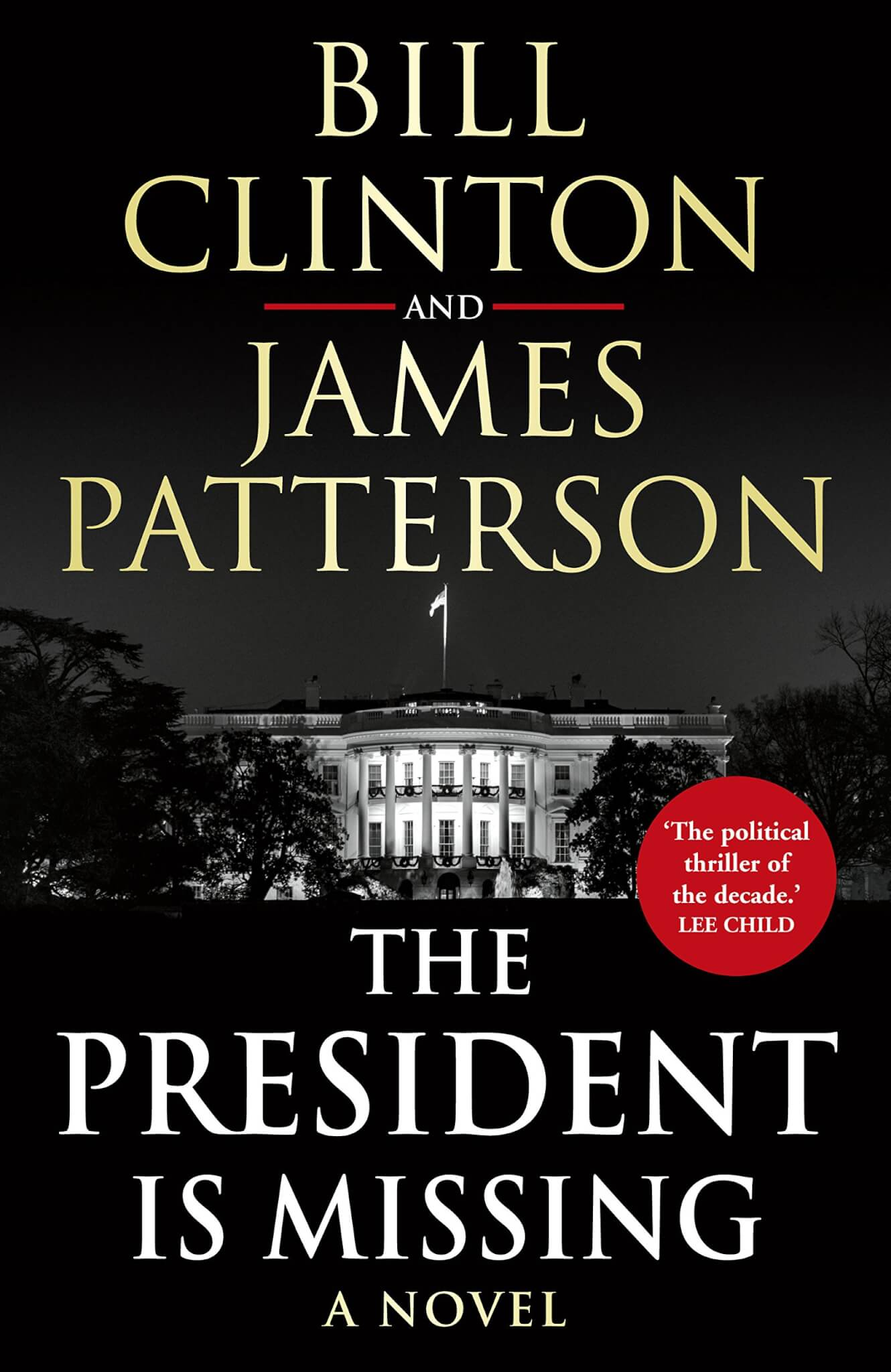 book cover of The President is Missing