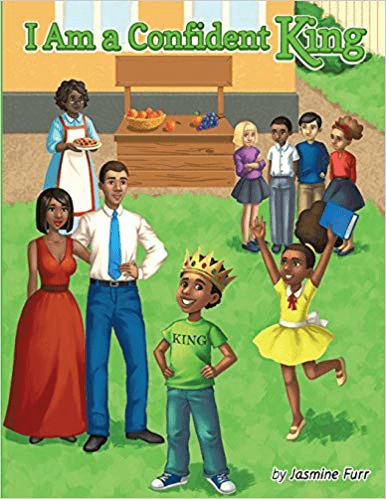 Cover of the book, I Am a Confident King.