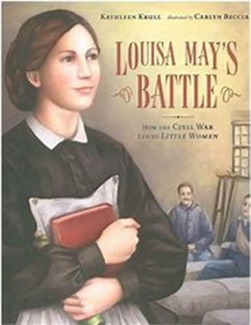 Cover art of Louisa May's Battle by Kathleen Krull