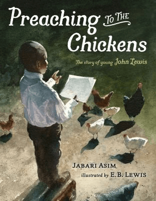 Cover of the book, Preaching to the Chickens.