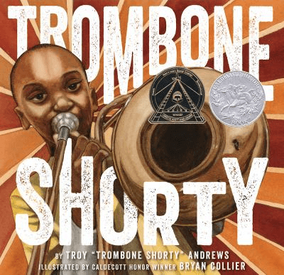Cover of the book, Trombone Shorty.