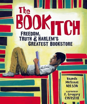 Cover of the book, The Book Itch.