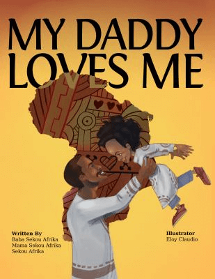 Cover of the book, My Daddy Loves Me.