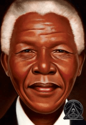 Cover of the book, Nelson Mandela.