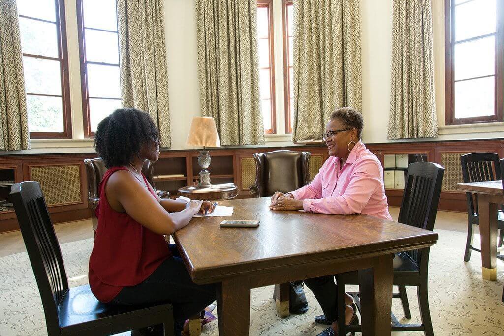 Brittany interviews Sharon G. Flake.
