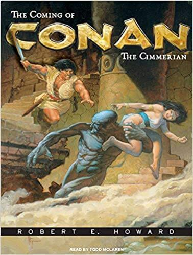 Cover art of The Coming of Conan by Robert E. Howard