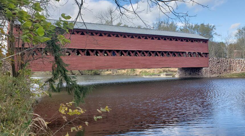 Sachs Covered Bridge.