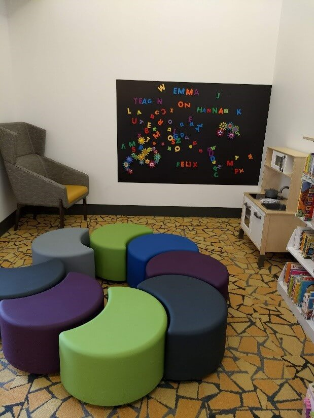 A view of CLP - Carrick's Children's space.