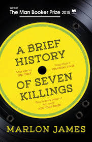 A Brief History of Seven Killing cover, depicting a Record