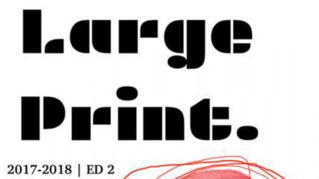 Large Print Teen Literary Journal 2nd edition logo