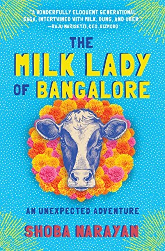 The Milk Lady Of Bangalore Book Cover.