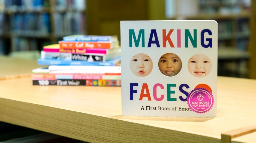 cover art of Making Faces by Molly Magnuson