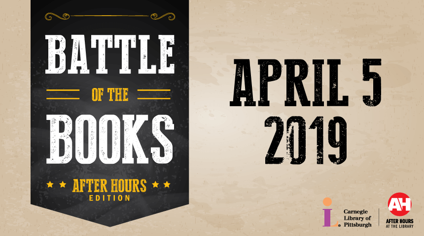 Gray shield logo for Battle of the Books