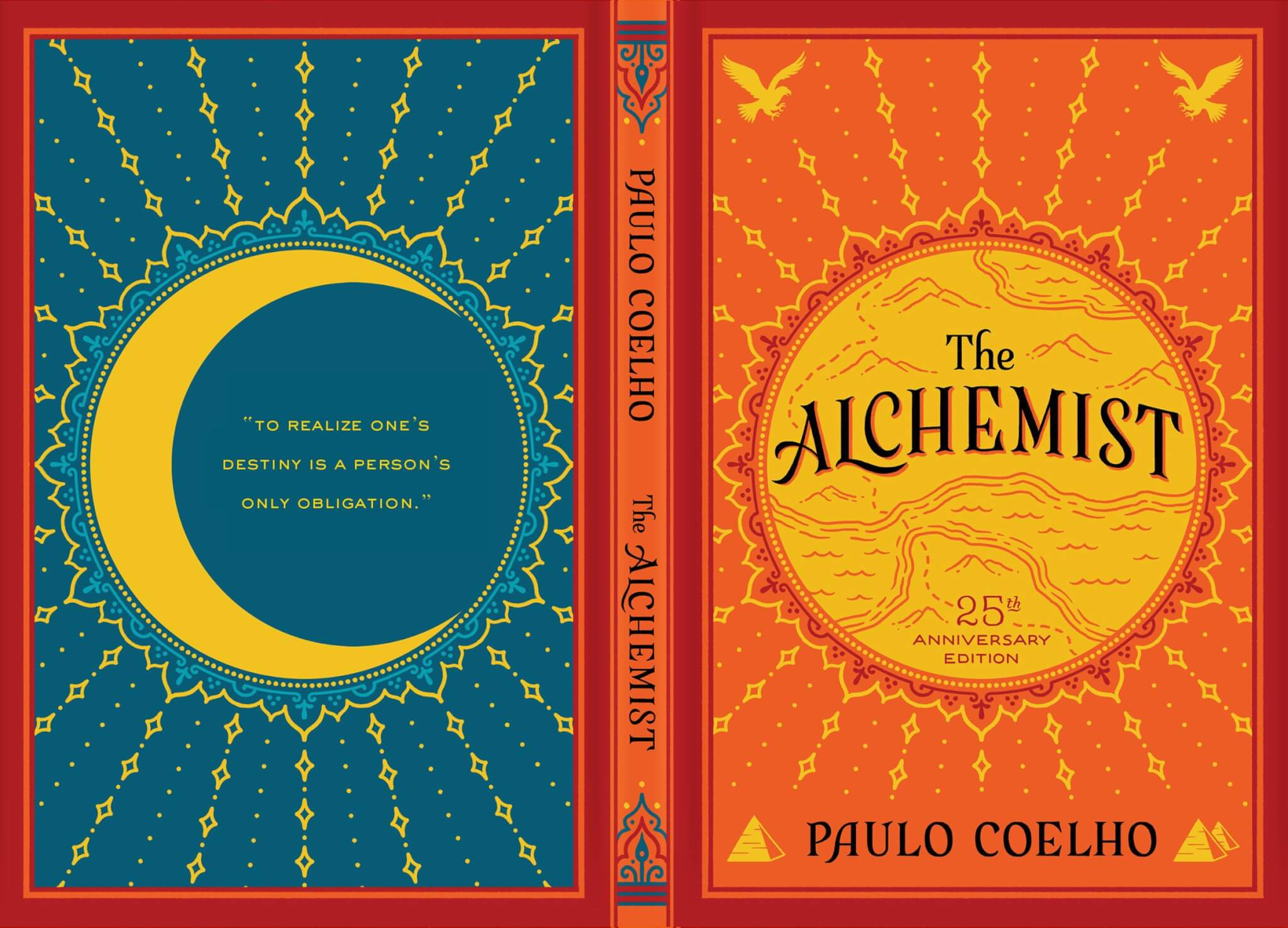 Cover art of The Alchemist by Paulo Coelho