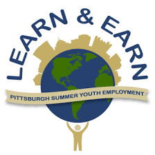 "Logo for ""Learn & Earn: Pittsburgh Summer Youth Employment"""