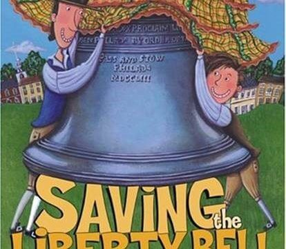 Cover art of Saving the Liberty Bell by Megan McDonald