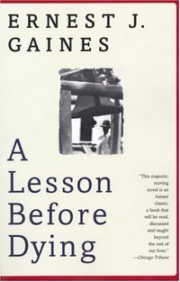 Cover of book A Lesson Before Dying