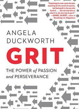 The Book cover for Grit.