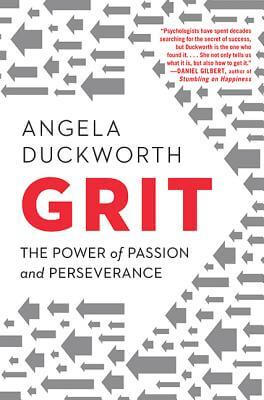 Cover art of Grit by Angela Duckworth