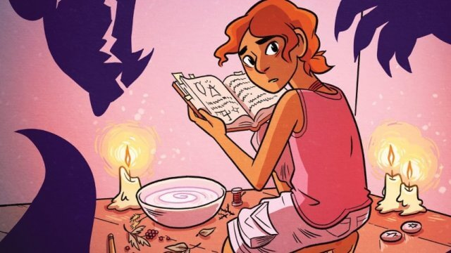 Cover for The Witch Boy by Molly Ostertag