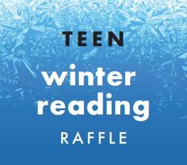 Teen Winter Reading Raffle logo