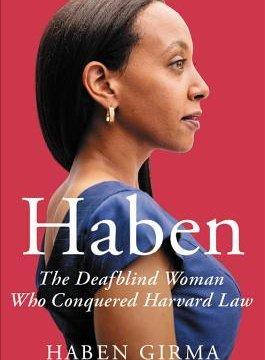 Haben Girma's Book Cover.